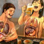 Алкоголь и здоровье: хорошее, плохое и уродливое